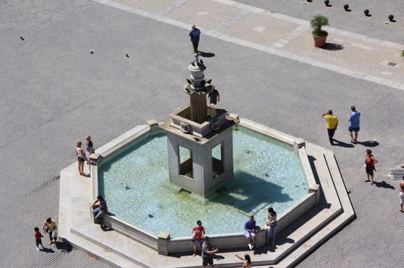 Vista de la Plaza Vieja  desde Cámara Oscura, La Habana Vieja. Foto: Dianelys Calzado Pagés.