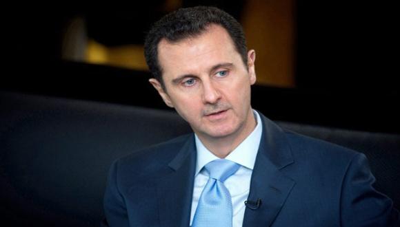 Bashar al-Assad transmitió sus condolencias a los familiares de las víctimas en atentado ocurrido en París. Foto: archivo.