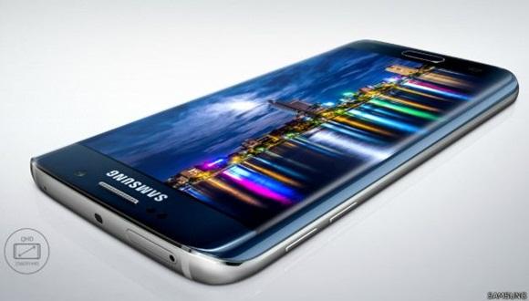 La curvatura del Galaxy S6 Edge ha generado mucho interés.