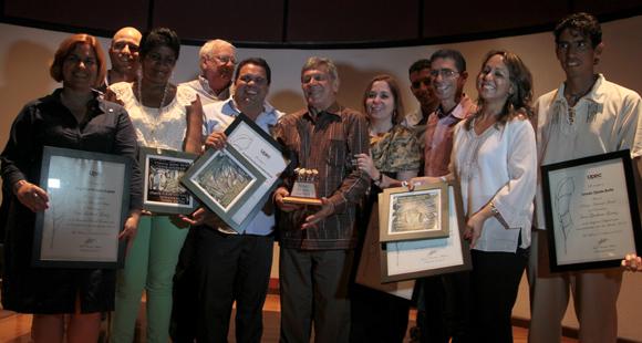 Los premiados. Foto: Ladyrene Pérez/ Cubadebate.