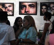 """Inauguración de la muestra fotográfica """"Un Año en Fotos"""". Foto: Ladyrene Pérez/ Cubadebate."""