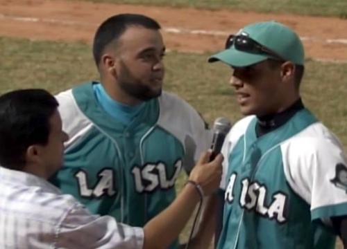 Danny Aguilera y Héctor Mendoza, puntales del picheo de la Isla.