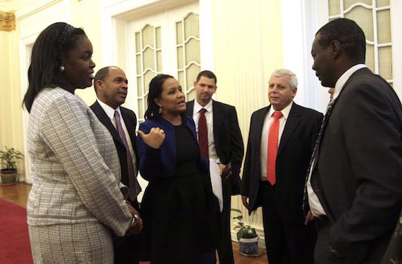 La Delegación oficial a las Conversaciones sobre Derechos Humanos en Washington DC. Foto: Ismael Francisco/Cubadebate.