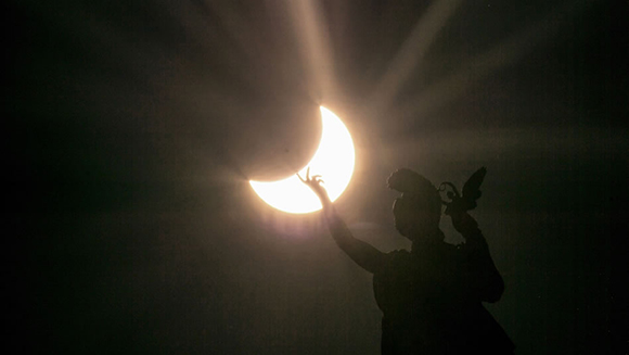Desde Austria. Foto: AFP