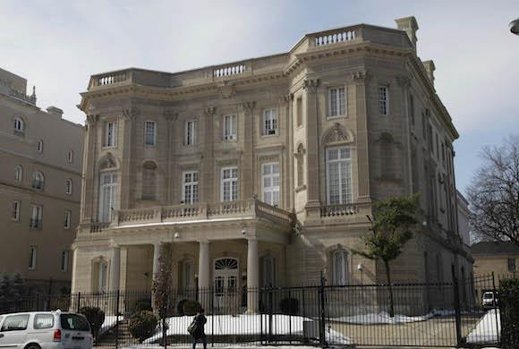 Sección de Intereses de Cuba en EEUU, representada por la Embajada de Suiza. Está ubicada en 16th Street, N.W.. Washington, D.C. Foto: Ismael Francisco/ Cubadebate