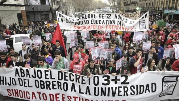 Esta será la segunta protesta que se realice en contra del Real decreto. | Foto: El Ciudadano.