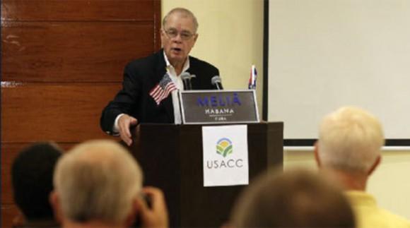 John Block en La Habana