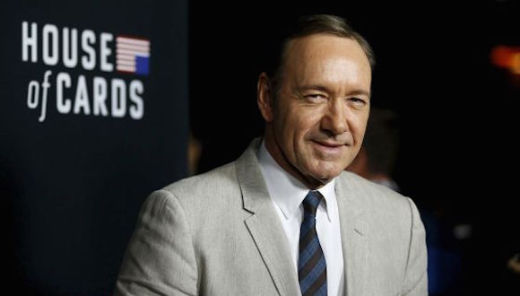 Kevin Spacey, que interpreta a Frank Underwood, en House of Cards. Foto: Reuters
