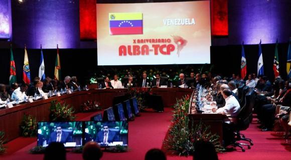Reunión del ALBA. Foto: Archivo