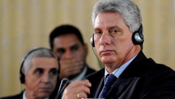 Primer vicepresidente cubano, Miguel Díaz-Canel, durante la IX Cumbre Extraordinaria de Petrocaribe