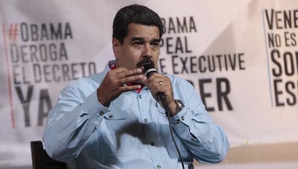 """El gobierno del presidente Nicolás Maduro decidió recurrir a la nota de protesta para rechazar lo que consideró un """"adefesio jurídico"""". Foto Xinhua / Archivo"""