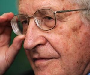 Noam Chomsky. Foto: Archivo de Cubadebate