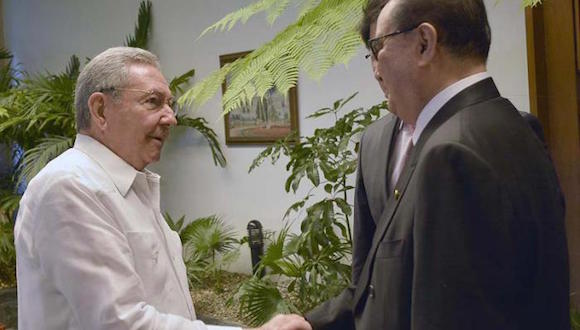 Recibió Raúl al Canciller de la República Popular Democrática de Corea