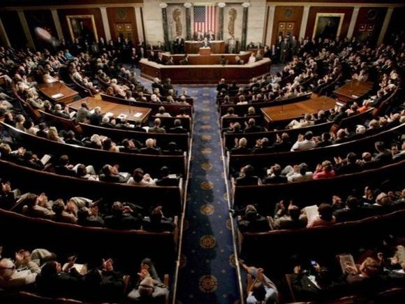 Senado estadounidense. Foto: Archivo.