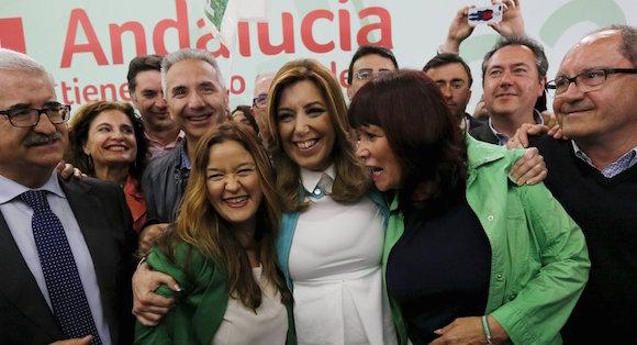 Susana gana las elecciones en Andalucía. Foto: Reuters