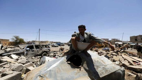 Yemen ha sufrido bombardeos por cinco dias consecutivos | Foto: EFE.