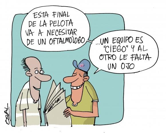 Final de Oftalmólogo. Autor: Osval