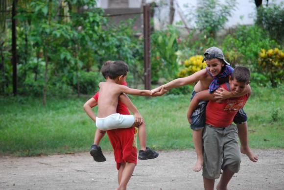 Alegría de Niño. Foto: Irina González Companioni y William-Garcia Periut / Cubadebate