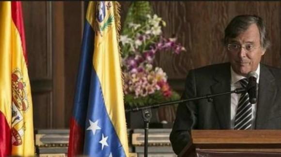 Antonio Pérez Hernández, embajador español en Caracas.