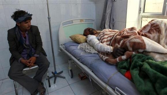 Cinco personas resultaron heridas y fueron trasladadas a hospitales de la capital. Foto / PressTV.