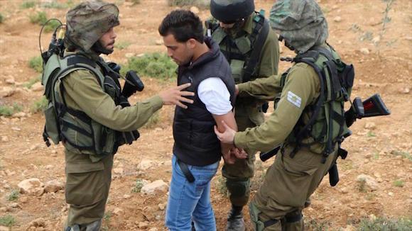 Ayman Garib, uno de los palestinos detenidos sin juicio ni cargos desde diciembre de 2014.