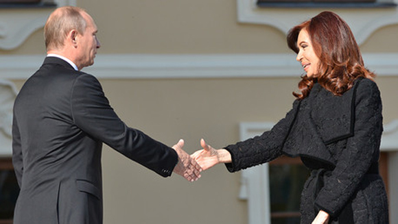 Cristina y Putin