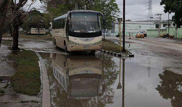 Lluvias continuas sobre occidente y centro de Cuba