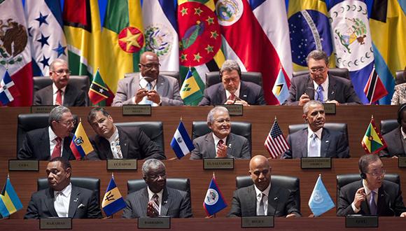 Cumbre de las americas-inauguracion
