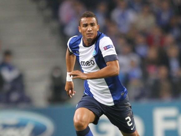El lateral brasileño Danilo. Foto tomada de record.xl.pt