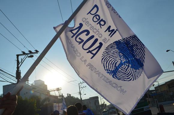 Derecho al agua en El Salvador