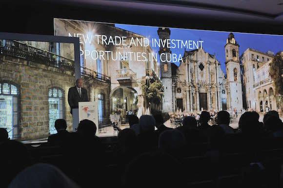 Presenta Cuba Cartera de negocios en Foro Empresarial en Panamá