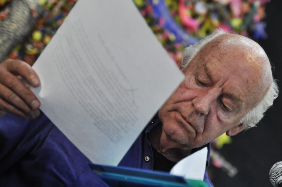 Eduardo Galeano En Casa de las Ame_ricas fotos Kaloian-7
