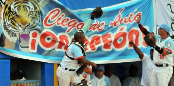 Final Beisbol Isla vs Ciego 7mo juego final ganan los avileños en el 7mo juego 7 x 2.Foto: Ricardo López Hevia / Granma / Cubadebate