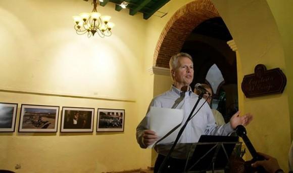 Gary Pruitt, Presidente de AP. Foto: Ladyrene Pérez/ Cubadebate.