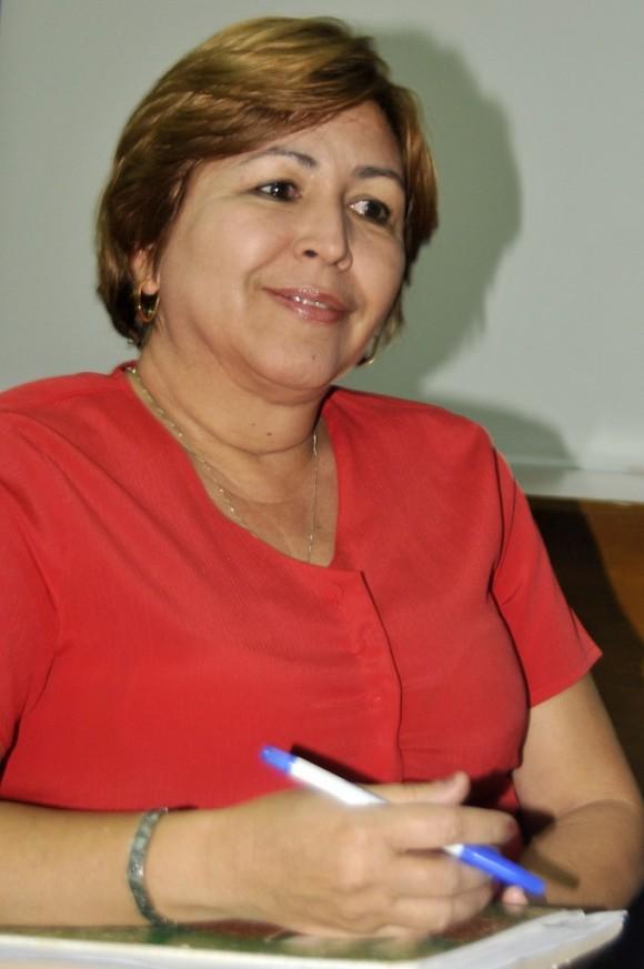 Gisela Duarte Vázquez, miembro del secretariado nacional de la CTC. Foto: José Raúl Rodríguez Robleda.
