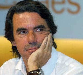 José María Aznar. Foto tomada de biografiasyvidas.com