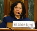Michele Leonhart. Foto: AP (Archivo).
