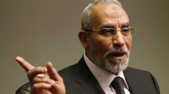 Mohamed Badie, líder de los Hermanos Musulmanes. Foto toada de teinteresa.es