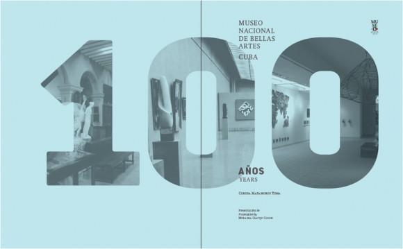 Plana del libro Museo Nacional de Bellas Artes Cuba. 100 años.