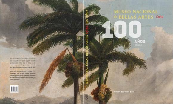 Portada del libro Museo Nacional de Bellas Artes Cuba. 100 años.