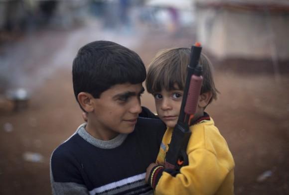 Niños sirios refugiados (3)