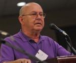 Miguel Barnet en la Cumbre de los Pueblos. Foto: Juvenal Balán/ Cubadebate