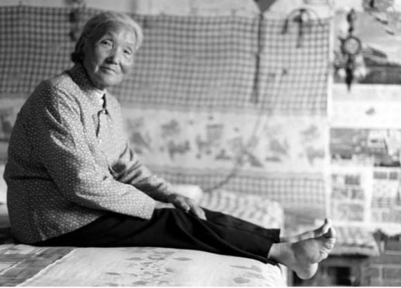 Zhang Yun Ying fue la primera mujer que fotografió Jo Farrell, en 2006.
