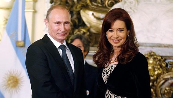 La presidenta de Argentina, Cristina Fernández de Kirchner, llegará a Moscú el próximo 23 de abril en visita oficial.