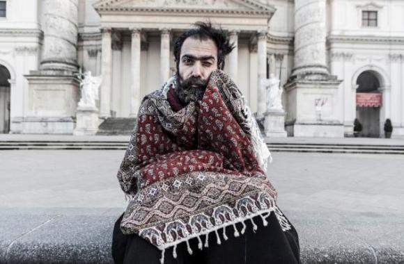 Saleh Rozat es el triunfador gracias a su imagen de Don Bohlul, un hombre de Isfahán (Irán).
