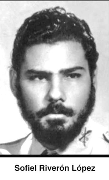 Sofiel Riverón López, integrante del Batallón PNR, Mártir de Playa Girón