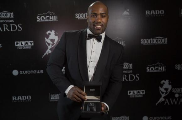 El judoca francésTeddy Riner, Premio SportAccord 2014