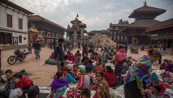 Templo Vatsala Shikhara Bhaktapur en Katmandú, Nepal, tras el terremoto. Foto: Tomada de elpais.com
