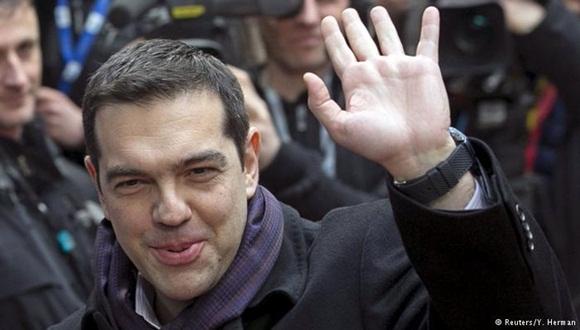 """Tsipras: """"Estoy aquí para dar un nuevo impulso a las relaciones con Rusia"""" ."""