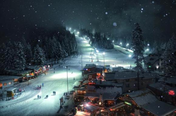 El búlgaro Yasen Georgiev con su imagen 'sueño de invierno'.
